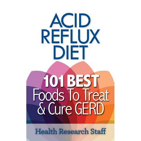 Acid Reflux Diet - by  Health Research Staff (Paperback) - image 1 of 1