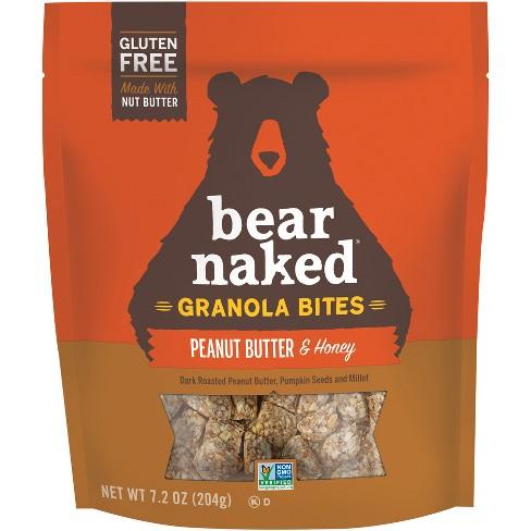 Bear Naked Gluten Free Peanut Butter & Honey Granola Bites - 7oz - image 1 of 3