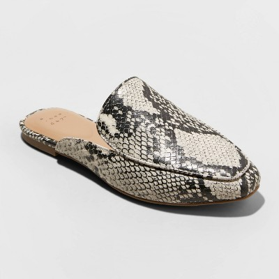 Women's Cardi Mules - A New Day™.