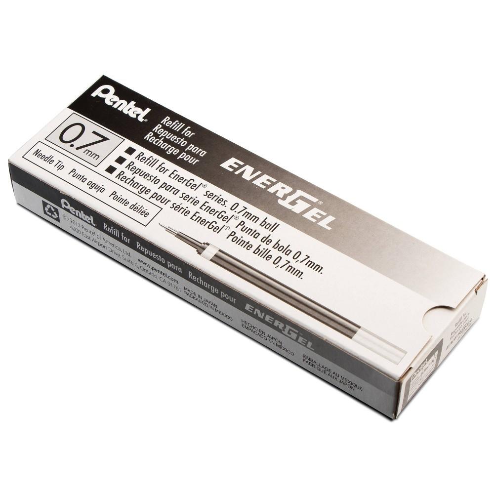 Image of Pentel 12ct EnerGel Gel Pen Refill Pack Ink Black