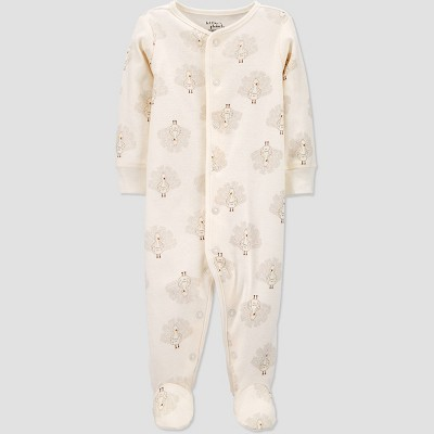 Baby Organic Cotton Thanksgiving Turkey Sleep N' Play - little planet organic by carter's White 3M