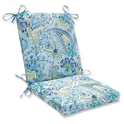 Outdoor/Indoor Gilford Baltic Squared Corners Chair Cushion - Pillow Perfect