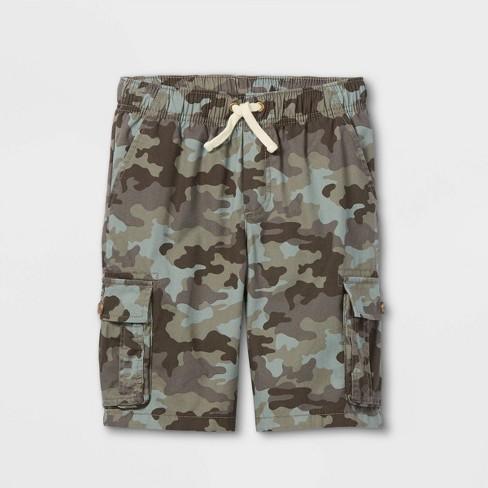 Boys' Pull-On Cargo Shorts - Cat & Jack™  - image 1 of 2