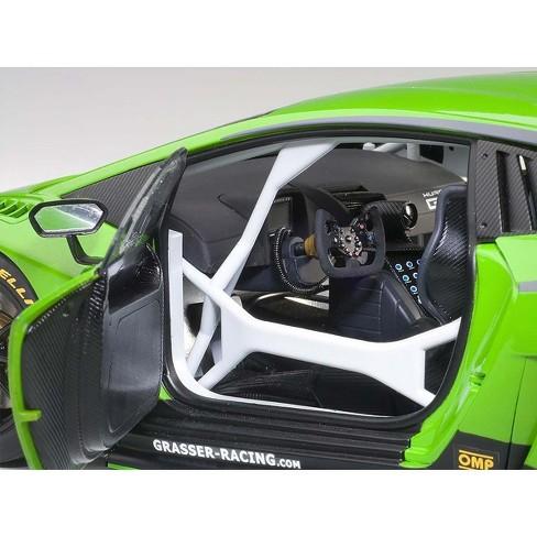 Lamborghini Huracan Gt3 Green 63 1 18 Model Car By Autoart Target