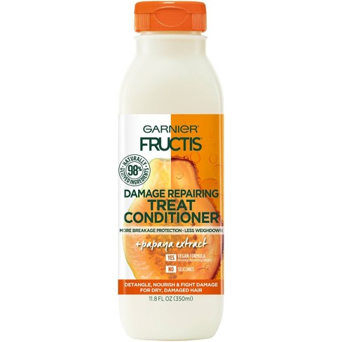 Garnier Fructis Papaya Extract Damage Repair Treat Conditioner - 11.8 fl oz - image 1 of 4