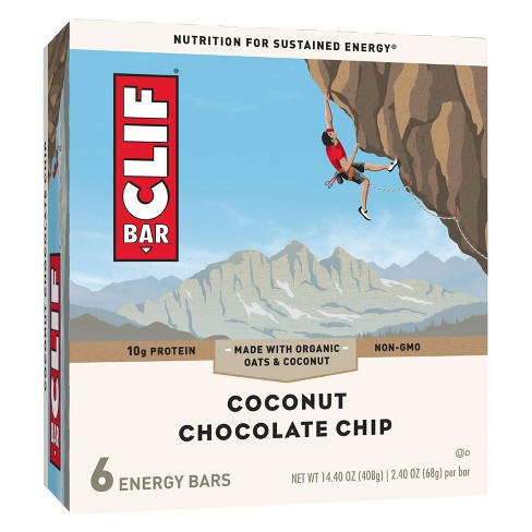 Clif Bar® Coconut Chocolate Chip Energy Bars - 6ct - image 1 of 3