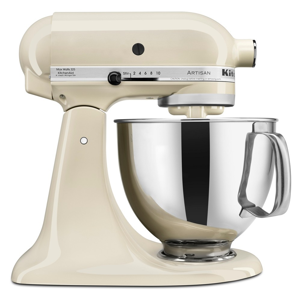 KitchenAid Refurbished 5qt Artisan Stand Mixer Almond Cream – RRK150AC 53960946