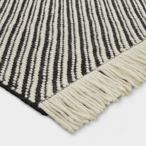 Black White Chevron Woven Area Rug Project 62 Target