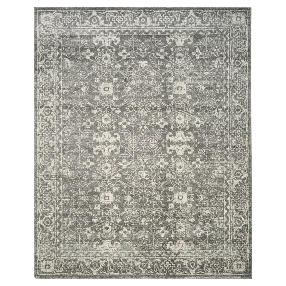 Evoke Rug - Grey/Ivory - (8'x10') - Safavieh, Gray/Ivory