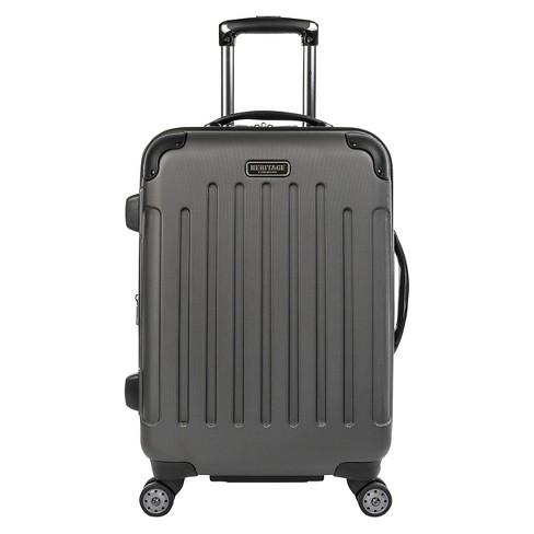 "Heritage 20"" Logan Square Lightweight 8 Wheel Carry On Suitcase - image 1 of 2"