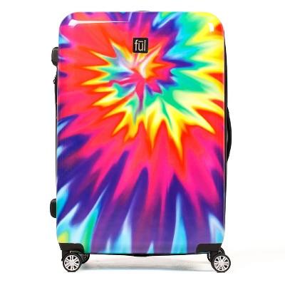 """FUL 28"""" Hardside Spinner Suitcase - Tiedye Swirl"""