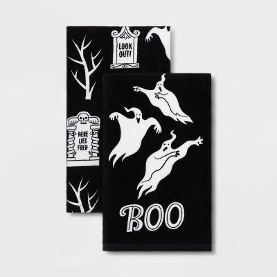 2pk Ghosts halloween Kitchen Towel - Hyde & EEK! Boutique™