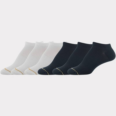 All Pro by Gold Toe Women's Flat Knit 6pk No Show Athletic Socks - 4-10