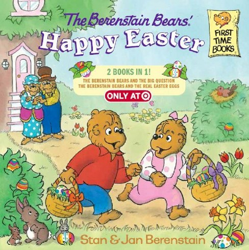 The Berenstain Bears' Happy Easter (Exclusive Content) (2 Books in 1) - image 1 of 1