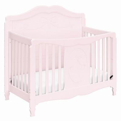 Storkcraft Princess 4-in-1 Convertible Crib - Primrose Pink