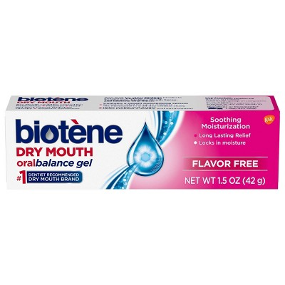Biotene OralBalance Moisturizing Gel Dry Mouth - Trial Size - 1.5oz
