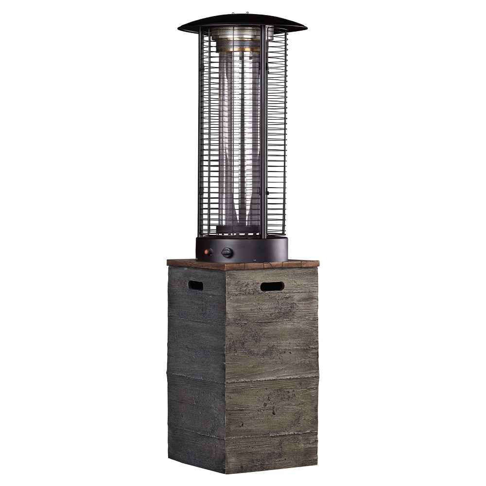 Hatchlands Patio Heater 21Wx21Dx75H Brown/Gray - Outdoor by Ashley