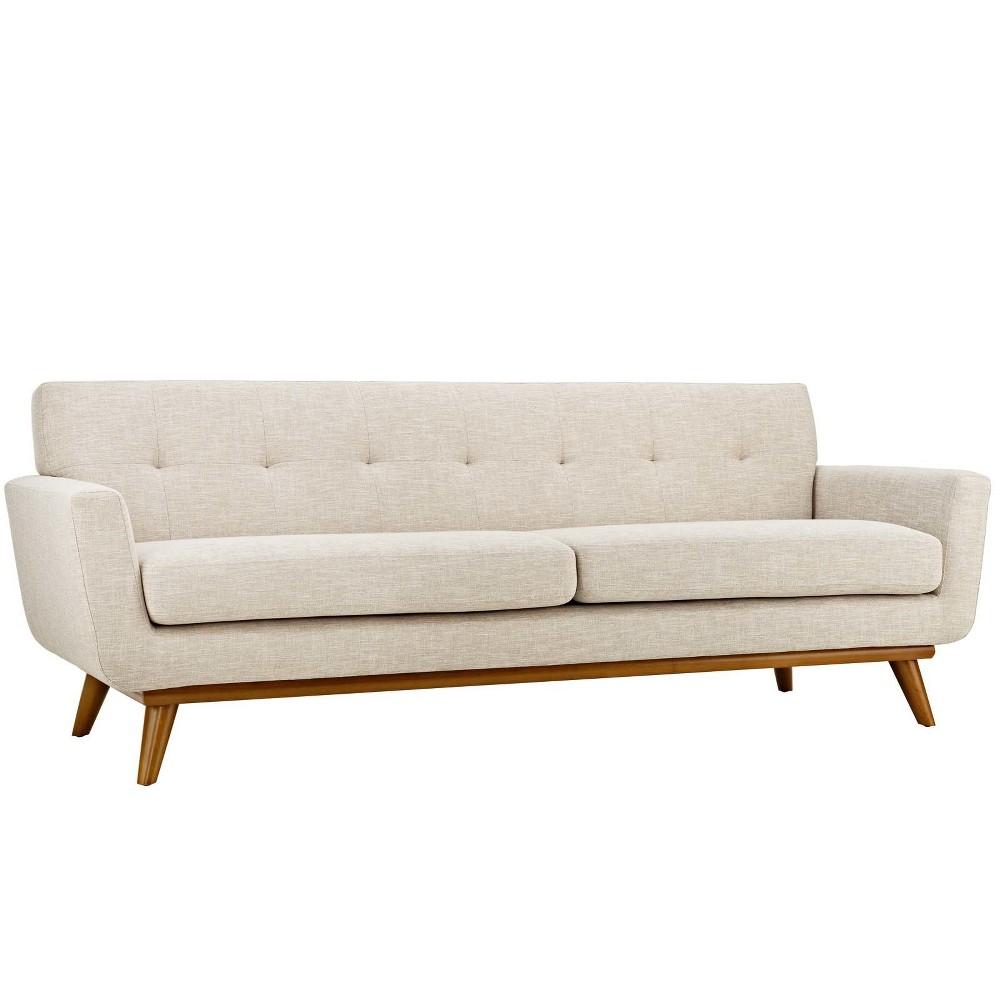 Engage Upholstered Sofa Beige - Modway