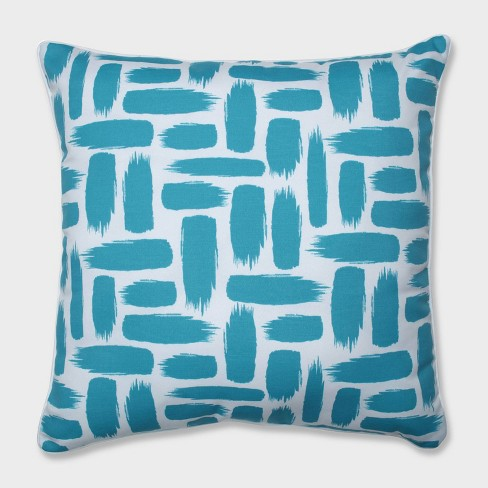 """25"""" Baja Turquoise Floor Pillow - Pillow Perfect - image 1 of 2"""