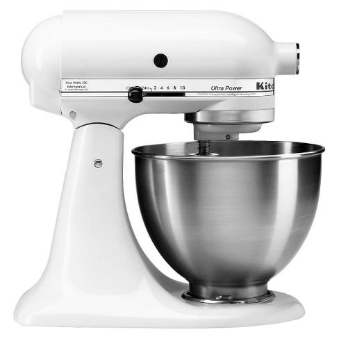 KitchenAid Ultra Power 4.5 Quart Stand Mixer White - KSM95