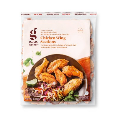 All Natural Chicken Wings - Frozen - 3lbs - Good & Gather™