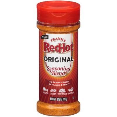 Frank's RedHot Original Seasoning Blend - 4.12oz