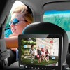 Pyle PLHRDVD904 Universal Portable Car Seat Headrest CD DVD TV 9.4 Inch Screen Player Monitor w/ USB Reader, Remote Control, and Mount Holder (2 Pack) - image 4 of 4