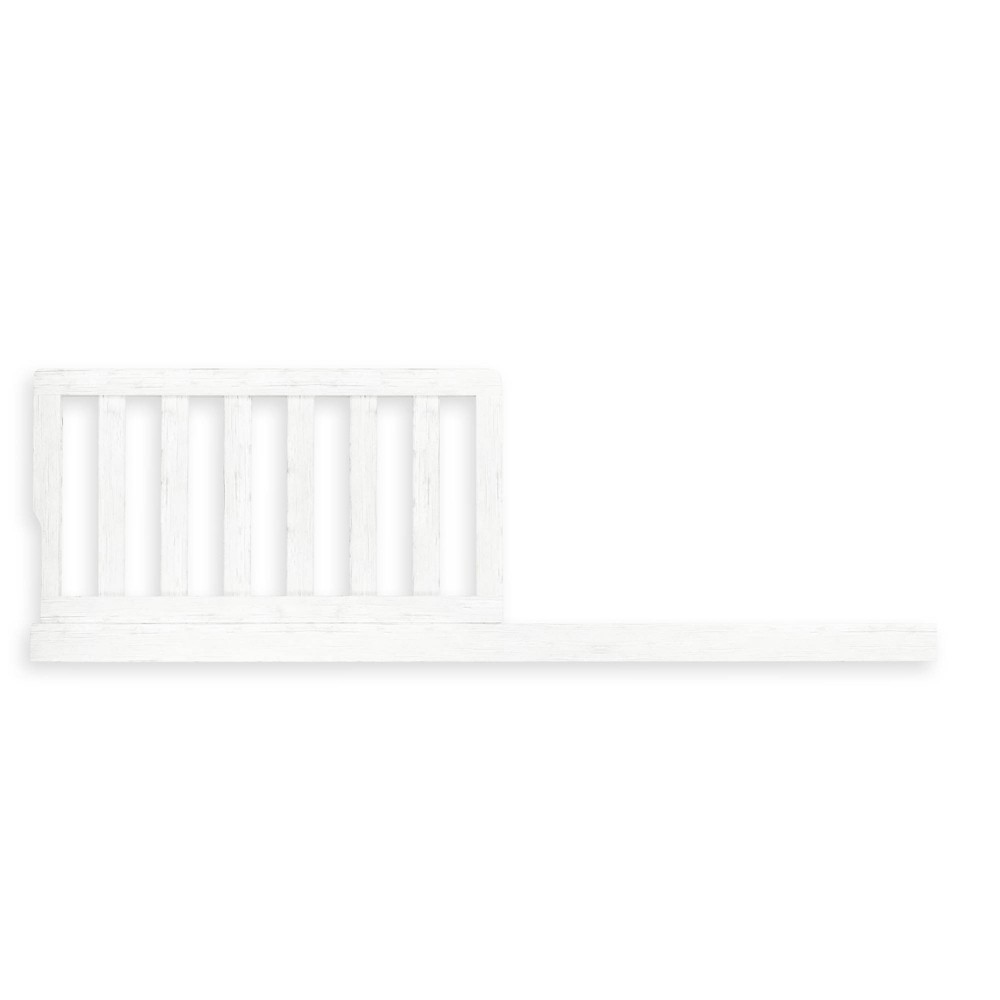Image of Evolur Aurora Toddler Crib Rail, White