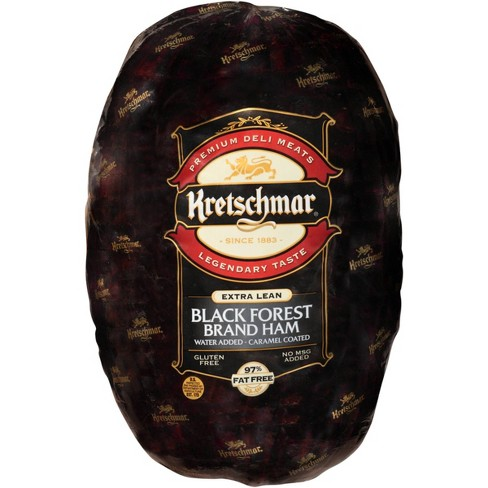 Kretschmar Extra Lean Black Forest Brand Ham - Price Per lb. - image 1 of 1