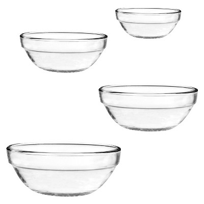 Anchor Hocking 4 Piece Nested Mixing Bowls Set