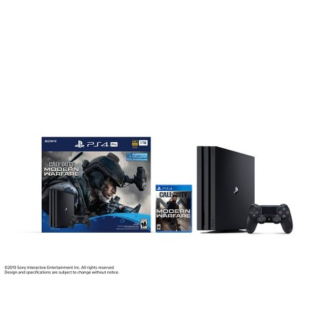 PlayStation 4 Pro 1 TB Call of Duty: Modern Warfare Bundle - image 1 of 4