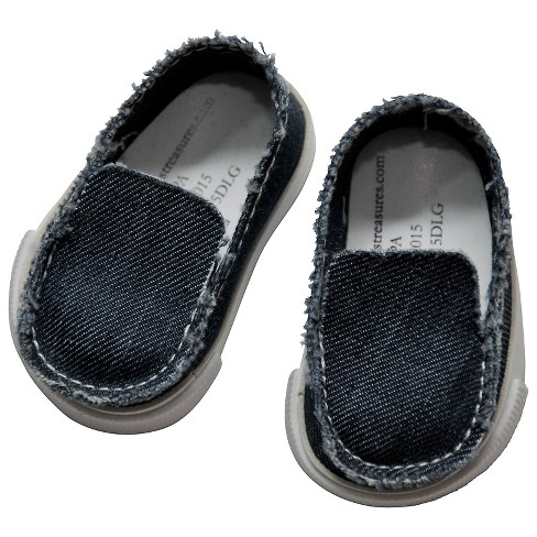 The Queen's Treasures® 18 Inch Doll Clothes Accessory, Denim Slip-on Style Shoe And Authentic Shoe Box - image 1 of 5