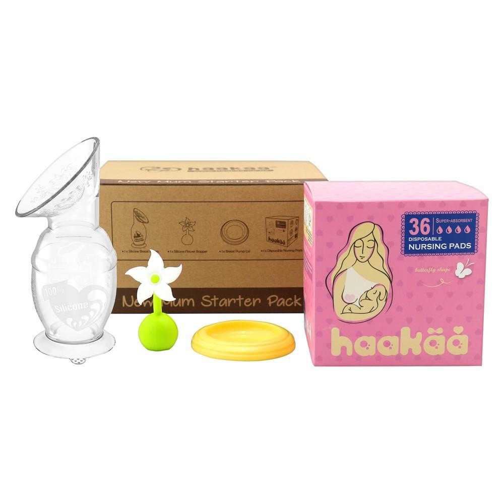 Haakaa New Mom Starter Kit, Clear