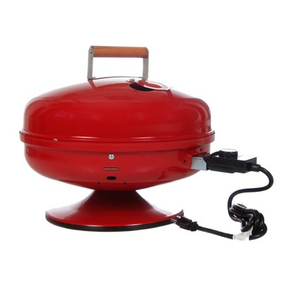 Americana Lock 'N Go Electric Grill Model 2120.4.511 - Red - Meco