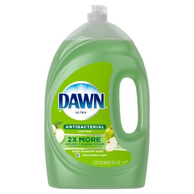 Dawn Ultra Dishwashing Liquid Dish Soap Antibacterial Apple Blossom - 75 fl oz