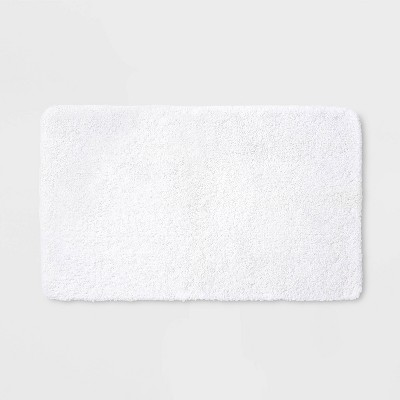 "20""x34"" Performance Nylon Bath Rug White - Threshold™"
