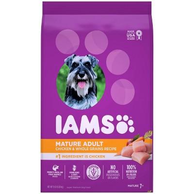 Iams Proactive Health Chicken & Whole Grains Recipe Mature Adult Premium Dry Dog Food