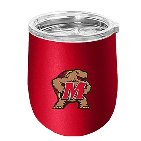 NCAA Maryland Terrapins 14oz Matte Stainless Steel Wine Tumbler - image 1 of 1