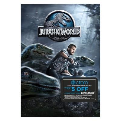 Jurassic World Movies + Atom Tickets Offer (DVD)