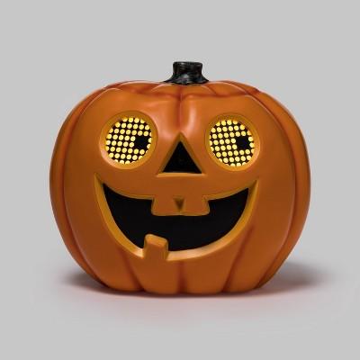9'' Animated Moving Eyes Jack-O'-Lantern Halloween Decorative Holiday Scene Prop - Hyde & EEK! Boutique™