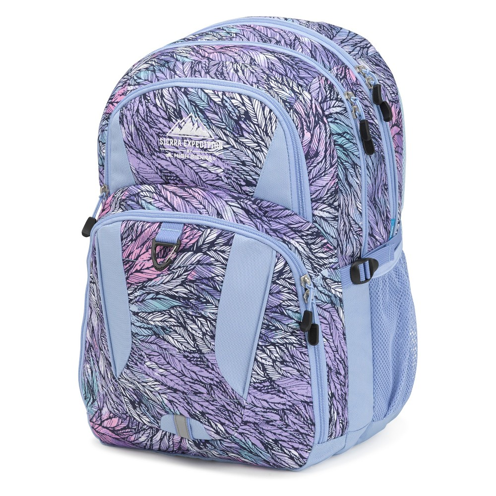 Sierra Expedition 18.5 Feather Print Cymba Backpack - Blue