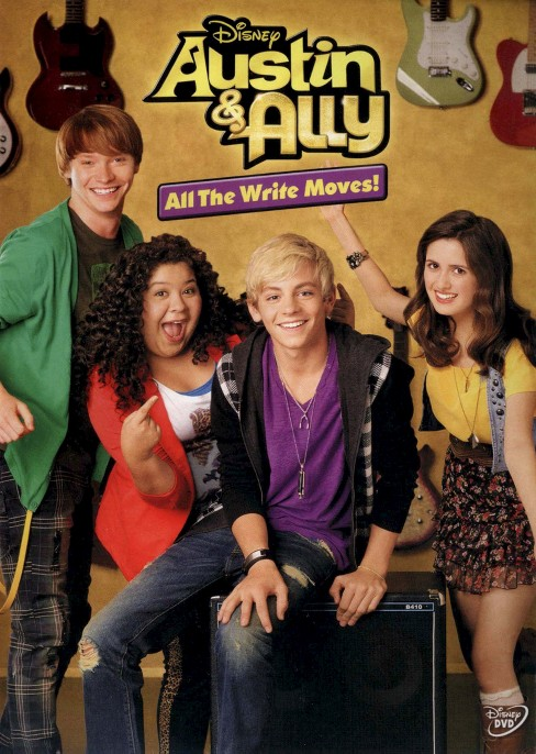 Austin & Ally: All the Write Moves! (dvd_video) - image 1 of 1