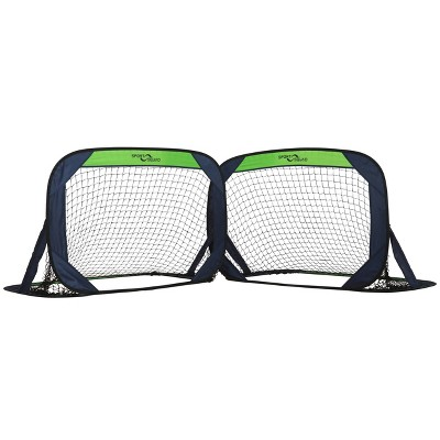Sport Squad Portable Pop-Up Soccer Goal Net Set - 2pk