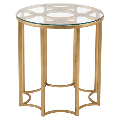 End Table Gold - Safavieh - image 1 of 3