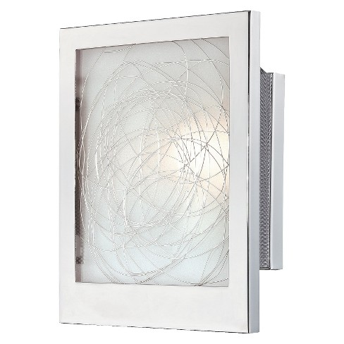 Lite Source Paola Sconce Wall Light - Silver - image 1 of 1