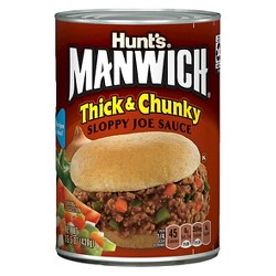 Hunt's Manwich Thick & Chunky Sloppy Joe Sauce - 16oz