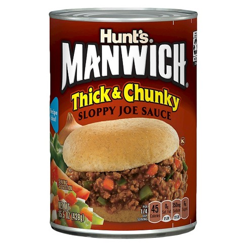 Hunt's Manwich Thick & Chunky Sloppy Joe Sauce - 16oz - image 1 of 1