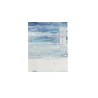 Urban Mist Gel Coat Unframed Wall Canvas Blue