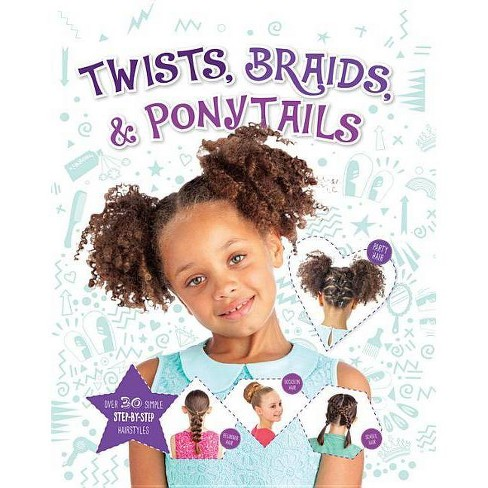 Twists, Braids & Ponytails - by  Joel Benjamin (Hardcover) - image 1 of 1