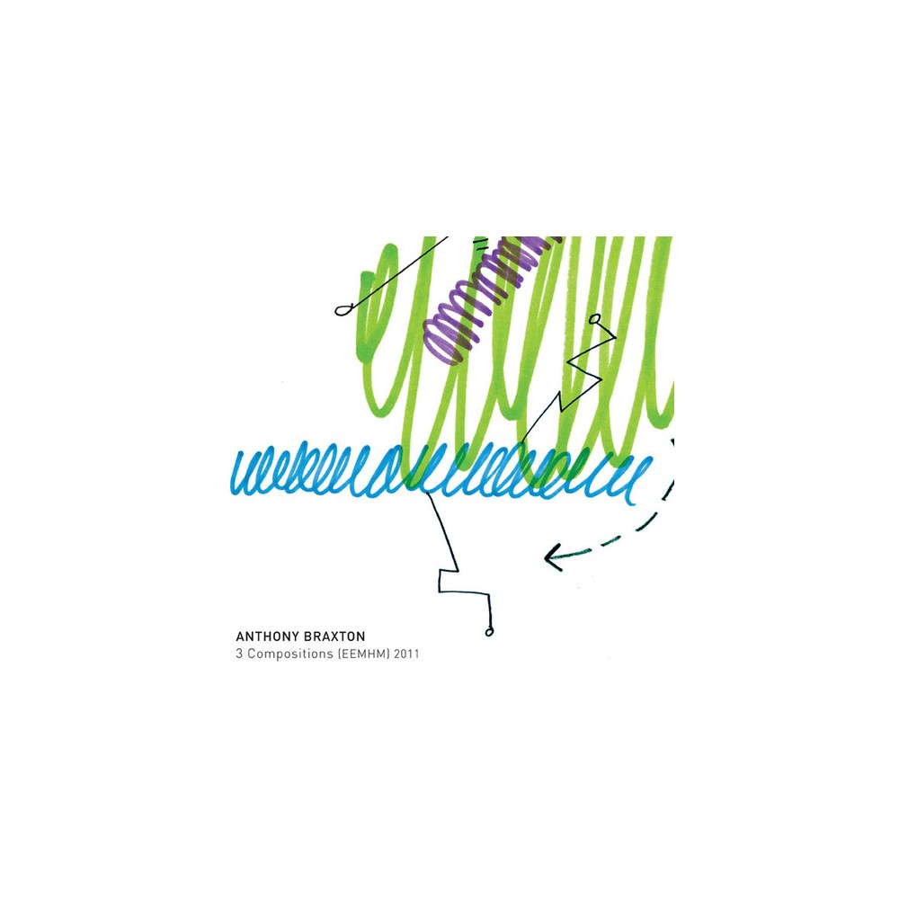 Anthony Braxton - 3 Compositions (Eemhm) 2011 (CD)
